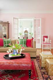 Shabby Chic Furniture Chicago by Chicago Pink Tufted Ottoman Closet Shabby Chic Style With Glass