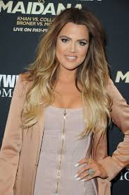 khloe kardashian wear filled in bold brows in las vegas glamour