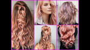 top 25 best rose gold hair color ideas hairstyle trends 2017