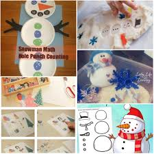 sensational snowman activities for kids