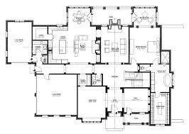 floor plans for large homes open one story house plans home plan 152 1004 floor plan first