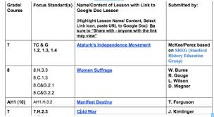 lesson plan design template and lesson rrepository buncombe