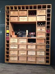 cave a vin cuisine cuisine et bois agencement de cuisine à ève cellier cave