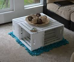Diy Coffee Tables Coffe Table Diy Coffee Tables Ideas Wine Crate Table Refinishing