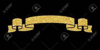 gold glitter ribbon gold glitter ribbon royalty free cliparts vectors and stock