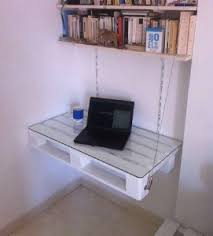 le de bureau sur pied une table de bureau sans jambes avec juste une palette bureau