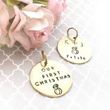 add a personalized tag to any keepsake christmas ornament u2013 kara u0027s