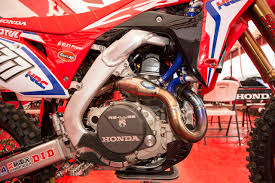 honda motocross gear motocross action magazine inside look 2017 honda hrc factory crf450