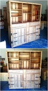 Kitchen Utensils Storage Cabinet Top 25 Best Pallet Cabinet Ideas On Pinterest Pallet Kitchen