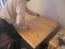 Drafting Tables With Parallel Bar Sliding Parallel Straight Edge How To Do It Yourself Youtube