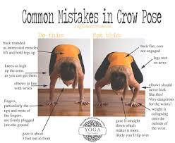 common mistakes in crow pose u2014 yogabycandace