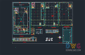 factory layout design autocad dwg download factory dwg project architectural detail dwg