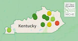 Kentucky Map Usa by 2017 Best Places To Live In Kentucky Niche