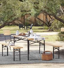 Wicker Patio Table Set Garden Bench Wooden Outdoor Furniture Outdoor Table And Chairs
