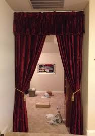 Blackout Curtains For Media Room Media Room Blackout Curtains Decor Kitchens And Interiors