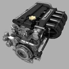 4 cylinder engine car 4 cylinder engine 02 3d model cgtrader
