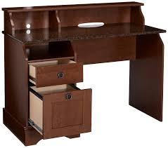 Sauder Graham Hill Computer Desk With Hutch by Amazon Com Sauder Graham Hill Desk Autumn Maple Finish Kitchen