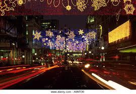shopping street christmas lights stock photos u0026 shopping street