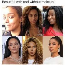 No Makeup Meme - dopl3r com memes beautiful with and without makeup wavysouls
