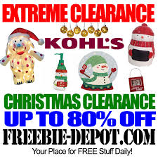 christmas clearance clearance 80 or more at kohl s after christmas