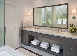 san francisco kendall charcoal bathroom transitional with master