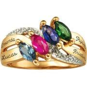 rings for mothers rings with birthstones