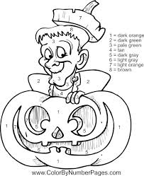halloween color number free 30 secondswaandj