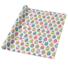 themed wrapping paper easter egg themed wrapping paper zazzle