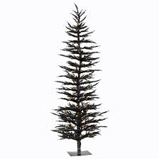 orange icicle lights halloween halloween tree pre lit 6 u0027 black tree with 150 orange led lights