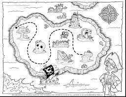 Pirates Map Of Pirates Vardantnet Coloring Treasure Map Colouring Pages Pages