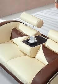 orange white leather sofa 33 sofas