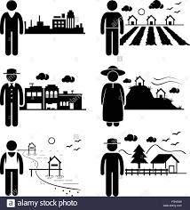 pictogramme chambre les gens en ville cottage chambre ville highlands