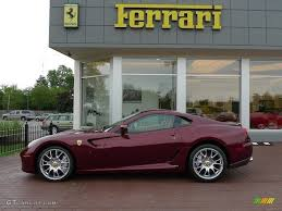 dark purple ferrari 2008 rosso rubino dark red metallic ferrari 599 gtb fiorano f1