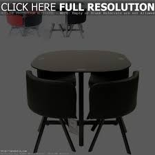 Space Saver Dining Set Table Four Chairs Space Saving Dining Table Set Appuesta Donslandscaping