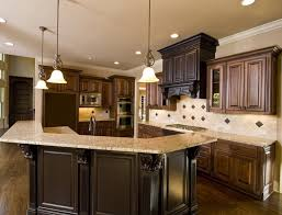 Dark Kitchen Cabinets Ideas by Dark Cabinet Kitchen Designs Pictures Of Kitchens Traditional Dark