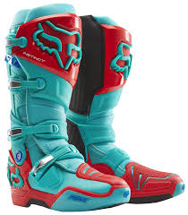 motocross boots size 9 fox racing instinct union le boots revzilla