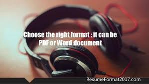 Choose The Best Latest Resume by How To Choose Best Format For Resume 2017