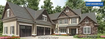 rustic house plans clarksville house plan house plans by garrell associates inc