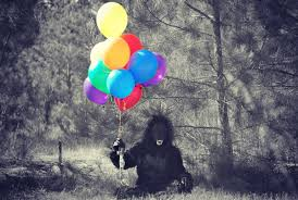 gorilla balloons those balloons but not by releasing it to the nature