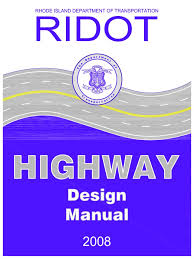 ridot highway design manual controlled access highway traffic