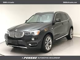 2016 used bmw x3 sdrive28i at bmw of austin serving austin round