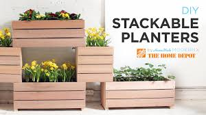 Home Made Modern by A Vertical Garden Made From Diy Stackable Planters Youtube