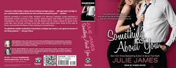 something about you audiobook cover julie