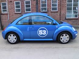 2001 volkswagen beetle herbie 2 litre se in blue with body decals