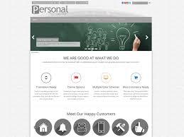 personal portfolio u2014 free wordpress themes