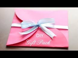 How To Wrap Wedding Gifts - creative gift wrapping idea youtube