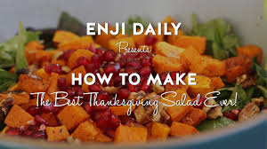 how to make the best thanksgiving salad favorite home