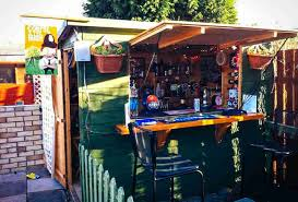 cool backyard shed bars great ways to convert tool sheds thrillist