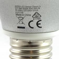 light bulbs with sensors low energy verbatim motion sensor led light bulb 6w