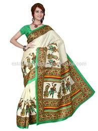 Buy Green Plain Cotton Silk Indian Cotton Silk Saree Buy Silk Saree Plain Slik Saree South
